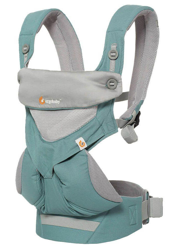 Nosilka Ergobaby 360 Performance Cool Air Mesh Icy Mint 2