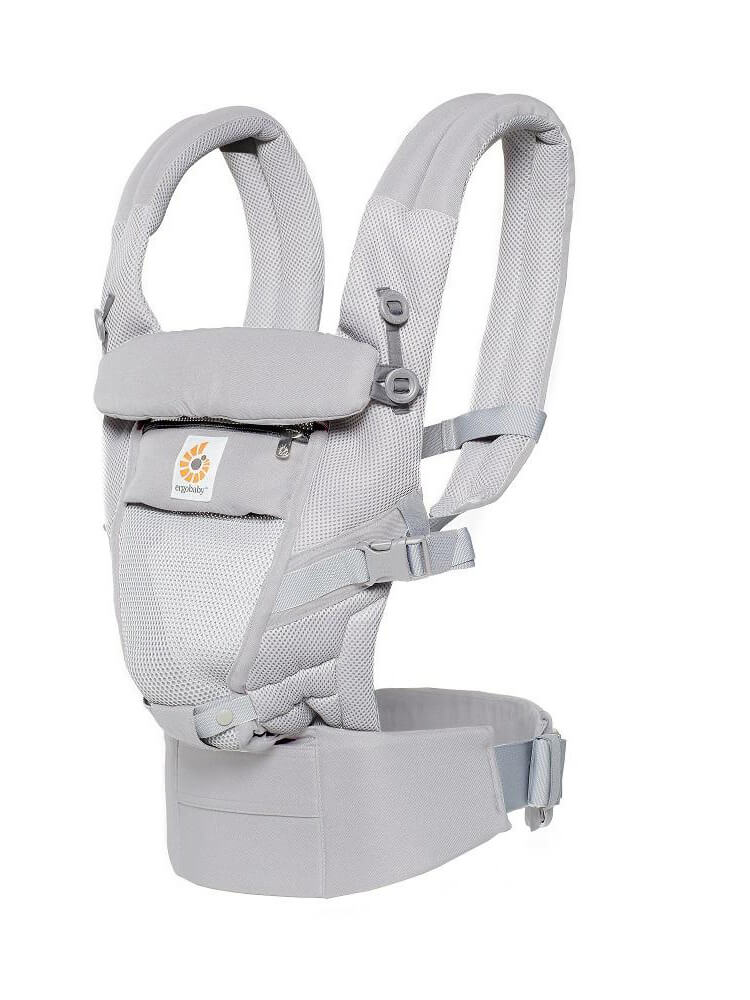 Nosilka Ergobaby Adapt Cool Air Mesh Pearl Grey 2