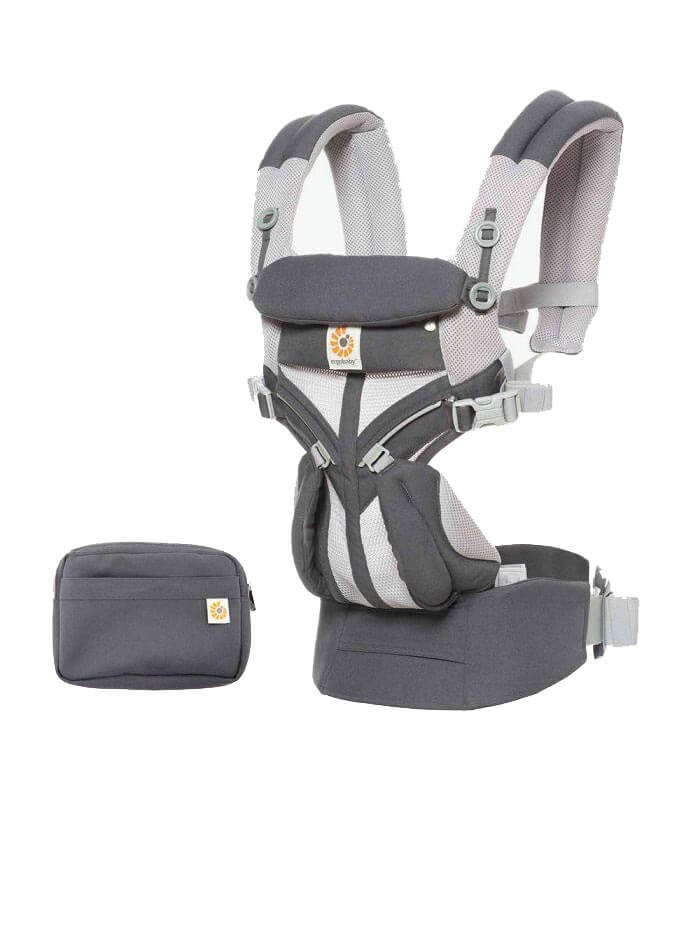 Nosilka Ergobaby Omni 360 Cool Air Mesh Carbon Grey 2