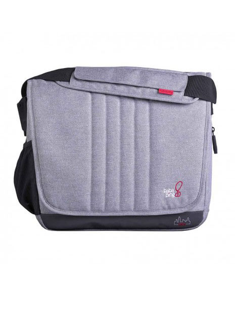 previjalna torba bababing tripper city grey