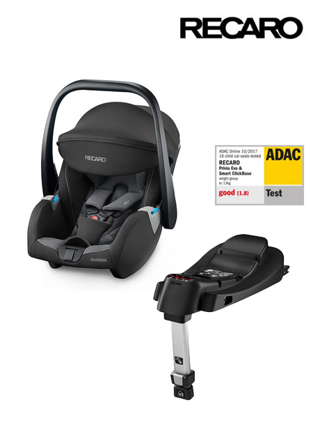 Lupinica RECARO Guardia Carbon Black