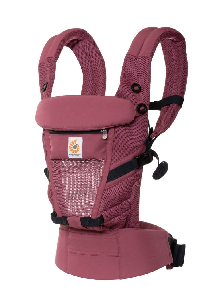 Nosilka Ergobaby Adapt Cool Air Mesh Plum 1